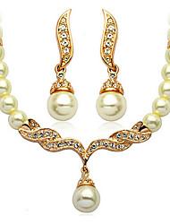 Bijoux Colliers décoratifs / Boucles d'oreille Collier / Boucles d'oreilles Soirée / Quotidien / Décontracté Alliage / Imitation de perle