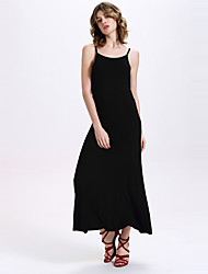 Women's Elasticity Backless Maxi Dresses