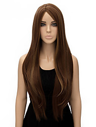Capless Multi-color Long Length High Quality Natural Straight Synthetic Wig