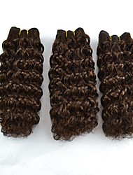 3Pcs/Lot Short Jerry Curl Omber color Blend Hair Weaving Hair Extension