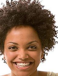 мода 10-28inch странный афро фигурных естественный цвет 100% бразильские человеческие волосы парика фронта шнурка парики