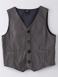 Boy's Cotton Vest,Summer Striped