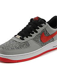 Nike Air Force 1 Men's Basketball Shoes Sneaker Fabric Blue / Red / Gray