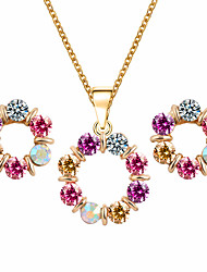 MOGE New Fashion Ladies Jewelry Sets / Necklace / Earrings