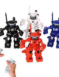 Happycow Robots Negro / Blanco / Rojo / Azul Robot Radio control Inglés