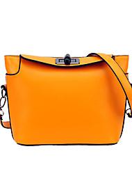 Women-Formal / Sports / Casual / Outdoor / Office & Career / Shopping-PU-Shoulder Bag-Green / Yellow / Orange / Fuchsia