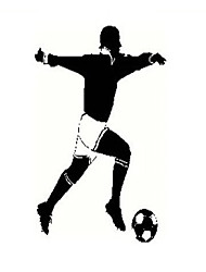 Footballer Sport Wall Sticker Art Decor Mural Home Decoration