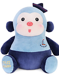 Metoo Microphone Rabbit Plush Toy Monkey  Sunpoo Creative Birthday Gift Monkey Mascot Navy Blue 10.5-Inch