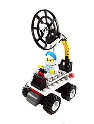 dr 6701 Mond-Rover als Gitter Musik Marke Bausteine Raum lego verdreht Montage Spielzeug Ei Kinder