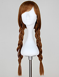 Cosplay Wigs Princess / Fairytale Movie Cosplay Brown Solid Wig Halloween / Christmas / New Year Female