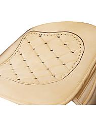 marfim plana pano assento de carro almofada 1pcs