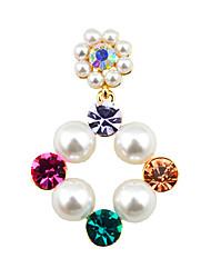 Korean Fashion Diamond Diamond Earrings