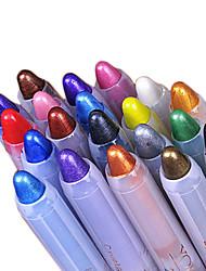 1Pcs Genuine Pearl White Color Pen Eyeliner Eyeliner Eyeliner Pen Gao Guangbi Silkworm Pen