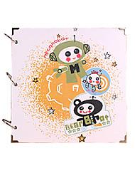 поделок 29 * 29 см 16inch ручной записках фотоальбом 30pcs черная бумага - мультфильм для семьи / ребенка / любовников / подарки / свадьба