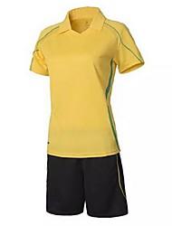 Femme Football Shirt + Shorts Ensemble de Vêtements/Tenus Respirable Séchage rapide Printemps Eté Automne Hiver Classique Térylène