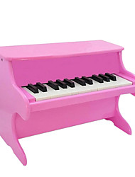 Wood Red/White/Black/Pink Piano for Children All Musical Instruments Toy