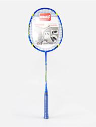 Raquetes de Badminton(Azul, DELiga de Alúminio) -Não Deforma / Durabilidade