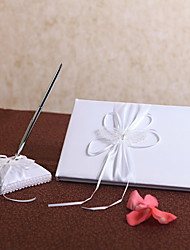 Laced Butterfly Guestbook and Pen Set