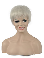 Natural Short Blonde Color Popular Synthetic Wig For Woman