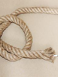 (10 м / серия) 2 * 0.75 антикварных двойной оплетке пеньковая веревка электрический провод марочные подвесной светильник шнура вязаные