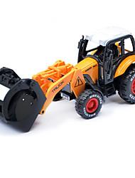 Dibang -6992 enfants alliage modèle de voiture jouet voiture 01h55 retour voiture agriculteur (4pcs)