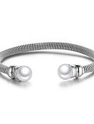 Women's Fashion Stainless Steel Cuff Bracelet