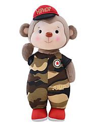 Metoo Senbao Monkey Mascot Plush Toy Doll Doll Birthday Gift Monkey Camouflage Treasure 35Cm