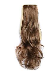 flaxen comprimento 50 centímetros peruca de cabelo tipo de cinto cavalinha melange encaracolado sintético (cor 12/613)