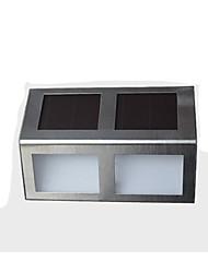 0.5W Lâmpada de LED a Energia Solar 80 lm Branco Quente / Branco Frio LED Dip Decorativa Bateria V 2 Pças.