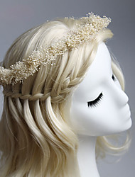 Women's / Flower Girl's Fabric Headpiece-Special Occasion / Casual / Outdoor Wreaths 1 Piece
