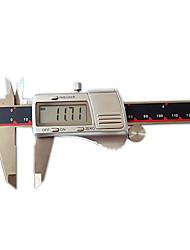 0-300mm 0,01 3v concha de metal paquímetro digital instrumento ferramenta levelmeasuring eletrônico