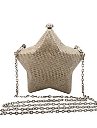 L.WEST Women's The Glitter Star Evening Bag