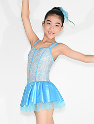 MiDee Children Dance Dancewear Kids' Cheering Dancewear Kids' Activities Dance Outfits