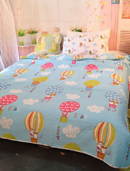 "2PC Quilt Sets Full Cotton Cartoon Pattern Soft 90""W*98""L"