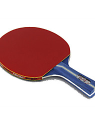 3 Stars Tennis Rackets Ping Pang Rubber Long Handle Pimples Indoor Outdoor