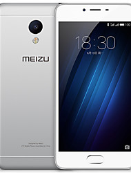"MEIZU Meizu 3s 5.0 "" Android 5.0 4G Smartphone (Dual SIM Octa Core 13 MP 2GB + 32GB Grey / White)"