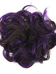 Wig Purple 5CM High-Temperature Wire Color Hair Ring Colour 2/33-FP03