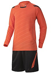 Others Men's Long Sleeve Soccer Clothing Sets/Suits Breathable / Quick Dry / Wicking  / Football / Running