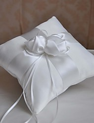 The New Simple White Flower Ring-Pillow