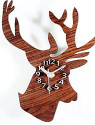 Moderne/Contemporain Autres Horloge murale,Autres Acrylique 40*30*5 Horloge