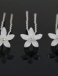 Sell Like Hot Cakes Resin Flower U More Hair Barrette Fine Beautiful Bride Wedding Tiara 10pcs