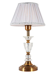 40 Traditional/Classic Table Lamp , Feature for Crystal / Multi-shade , with Electroplated Use On/Off Switch Switch