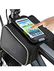 ROSWHEEL® Bike Bag 1.8LBike Frame Bag Waterproof Zipper / Moistureproof / Shockproof / Wearable Bicycle Bag Polyester / PVC / Terylene
