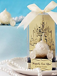 Recipient Gifts - 1Piece/Set , Happily Ever After Carriage Candle Wedding Favors