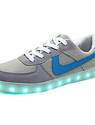 LED Light Up Shoes, Running Shoes Men's Shoes Outdoor / Athletic / Casual Synthetic / Fabric Fashion Sneakers Gray