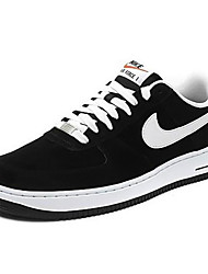 Nike Air Force 1 Round Toe / Sneakers / Running Shoes / Casual Shoes / Skateboarding Shoes Women's Wearproof Low-Top BlackRunning/Jogging