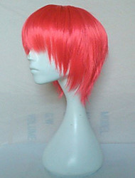 3 Colors Woman's Synthetic Hair Wigs Short Straight  Natural Animated Wigs Cosplay Wig Party Wigs