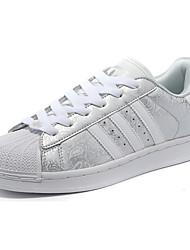 Punta redondeada / Zapatillas de deporte / Zapatos de cordones / Zapatos de Correr / Zapatos Casuales(Gris / Oro / Plateado) - deJogging