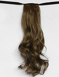 вода волна зеленый синтетический тип повязка парик волос хвостик (цвет 68)