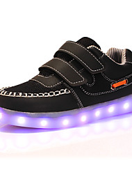 Boys' Shoes Outdoor / Casual Synthetic / Tulle Fashion Sneakers Black / White
